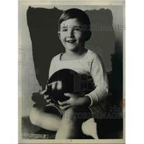 1916 Press Photo Belgrade young Crown Prince Pierre of Jugoslavia