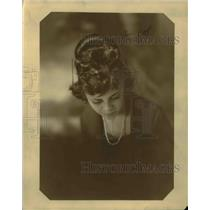 1921 Press Photo Helen Rogers Dams Daughter of Mrs. Wade Blasengame
