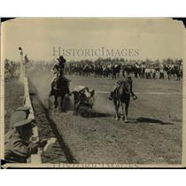 1925 Press Photo Cowboys