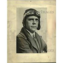 1930 Press Photo Captain Ashley C McKinley for a balloon race