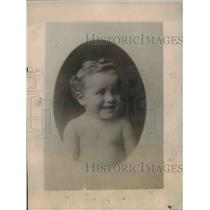 1921 Press Photo Col Dick C. Stoll, Jr, the youngest Colonel in the world