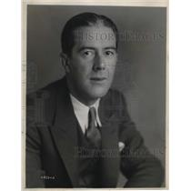 1930 Press Photo William  Shelley NBC  radio actor for Thurlow Wade