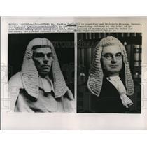 1918 Press Photo London Mr Justice Devlin is presiding and Sir Reginald Buller
