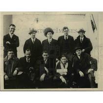 1930 Press Photo Crew of Apollo after 97 days adrift at sea, Shireffs, Haiting,