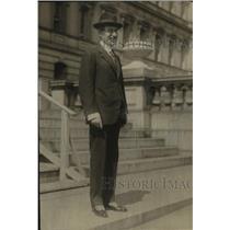 1920 Press Photo Baron Camillo Romano Avezmano Amb from Italy to US