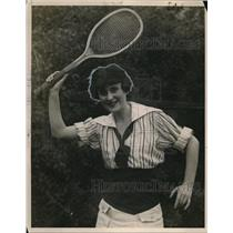 1922 Press Photo Rina Manning