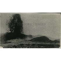 1922 Press Photo Kilanca  Erupting