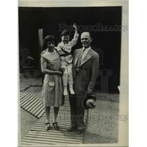 1930 Press Photo Jay Ward Mascot of American Legion at Convention in France
