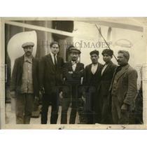 1920 Press Photo Italian Stowaways SS Pante Alligheri Sent to SS Guiseppe Verdi