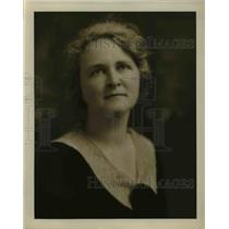 1922 Press Photo Mrs LL Holladay pres of Caledonia PDA