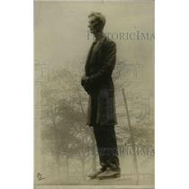 1919 Press Photo Statue of Abraham Lincooln