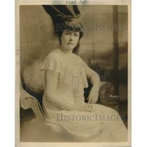 1920 Press Photo Ms. Helen Losanitch, Serbian Blind Association