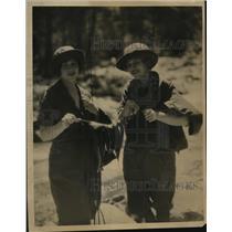 1924 Press Photo San Bernadino California Fly Casters