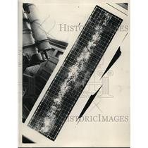 1929 Press Photo Panoramic of the Milky Way by Knut Lundmark Swedish Astronomer