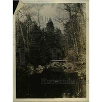 1925 Press Photo Ford on the Rapidan River
