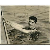 1922 Press Photo Robert Hosie Brooklyn Central swim star