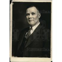 1924 Press Photo William Greene Secretary & Treasurer Of The United Mine Workers