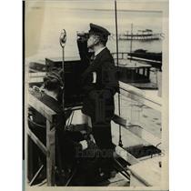 1927 Press Photo Commodore gerald T White for NY Championship races