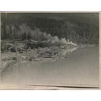1923 Press Photo Chucagh Natl Park at kenai Lake Alaska