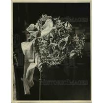 1926 Press Photo Flowers on display