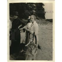 1918 Photo J. Pierpoint Morgan's Granddaughter Miss Mabel Satterlee
