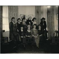 1920 Press Photo Democratic Party Women Attend Jackson Day Dinner in D.C.