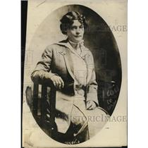 1913 Press Photo Miss Adelaide M Brance lived in secret with atty MH Couch in NY