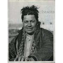 1933 Press Photo Victor Hernandez, Laborer