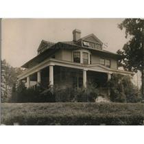 1921 Press Photo Home od Daniel Roper ex Comm. of IRS at Alaska Ave in DC