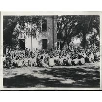 1932 Press Photo Joining the Iowa Farmer's holiday movement.