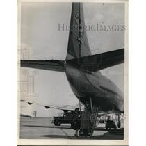 1948 Press Photo People Boarding Airplane