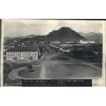 1921 Press Photo Balboa Panama Canal Zone seen from Admin Building