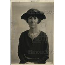 1918 Press Photo Mrs Gordon Auchinclose for Peace conference
