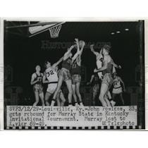 1929 Press Photo Louisville KY John Powless of , Murray State vs Ky State