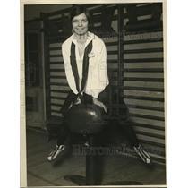 1926 Press Photo Gym