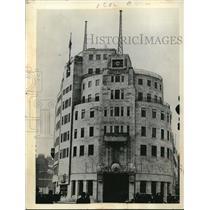 1939 Press Photo BBC building in London, England.