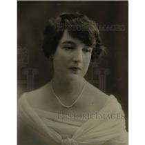 1920 Press Photo Mary Frances Katherine Petre the Baroness Furnivall to wed