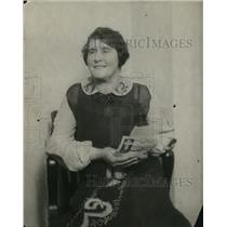 1920 Press Photo A French witness in Aimee S McPherson case