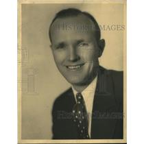1929 Press Photo Walter Preston of WBBM in Chicago