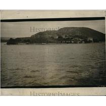 1926 Press Photo Fortress Guarding Copenhagen Harbor