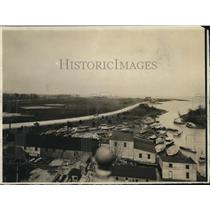 1919 Press Photo Bay View Park Toldeo Ohio