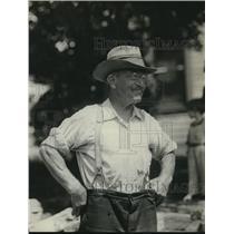 1921 Press Photo Thomas Joseph Gilbon father of Tommy Gilbon