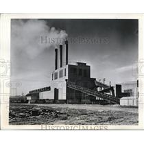 1945 Press Photo Power house of atom plant
