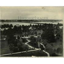 1926 Press Photo Pacific Ocean View from Hotel Royal Poinciana, Palm Beach FL