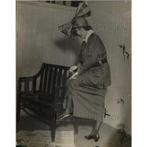 1922 Press Photo Mrs Julius Mayers