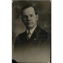 1919 Press Photo David Williams, Buisness Agent of the Machinists Union