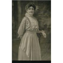 1920 Press Photo Mrs Josiah Evans Caowles LA Calif  pres of Womens Clubs