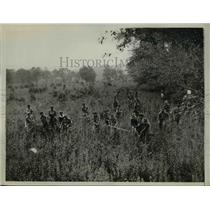 1934 Press Photo Boy Scouts help police search for missing kids in  Hartsdale NY