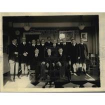 1920 Press Photo Barton Payne, Adm Benson and Edward Hurley at Shiping Board