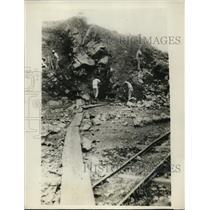 1928 Press Photo La Luz Gold Mine Where American Miners Taken Prisoner Nicaragua